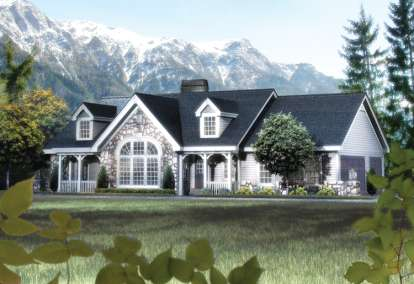 2 Bed, 2 Bath, 1568 Square Foot House Plan #5633-00147