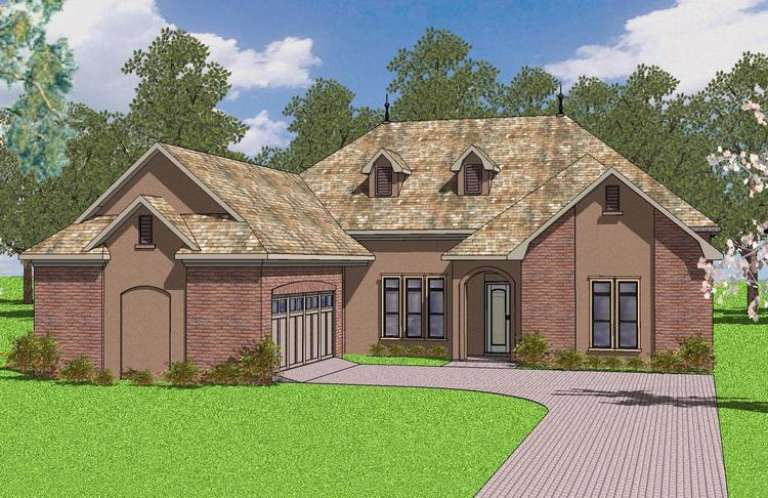 French Country House Plan #6471-00053 Elevation Photo