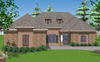 3 Bed, 3 Bath, 2366 Square Foot House Plan - #6471-00057