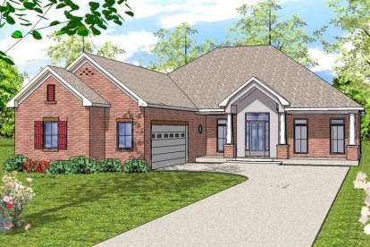 3 Bed, 2 Bath, 2202 Square Foot House Plan - #6471-00069