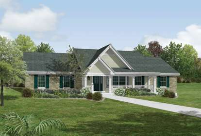 5 Bed, 3 Bath, 1941 Square Foot House Plan - #5633-00159
