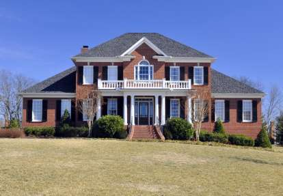 5 Bed, 4 Bath, 3822 Square Foot House Plan #6819-00001