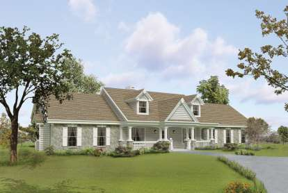 3 Bed, 2 Bath, 1814 Square Foot House Plan - #5633-00173