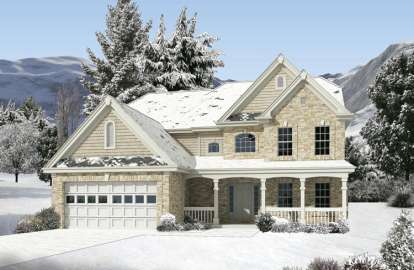 4 Bed, 3 Bath, 3269 Square Foot House Plan - #5633-00187