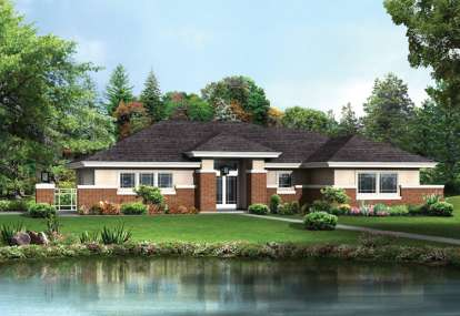 3 Bed, 2 Bath, 1763 Square Foot House Plan - #5633-00194
