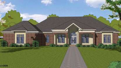 3 Bed, 2 Bath, 2909 Square Foot House Plan - #6471-00080