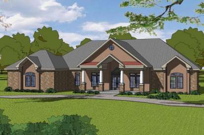 3 Bed, 2 Bath, 2909 Square Foot House Plan - #6471-00081