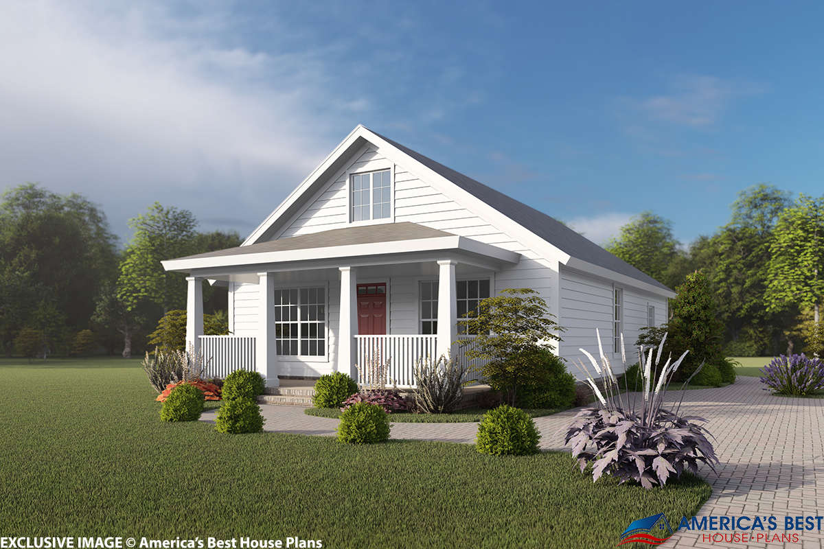 House Plan 4848-00325 - Craftsman Plan: 1,277 Square Feet, 3 Bedrooms, 2  Bathrooms