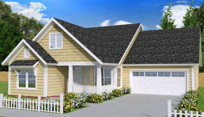 3 Bed, 2 Bath, 1810 Square Foot House Plan - #4848-00326