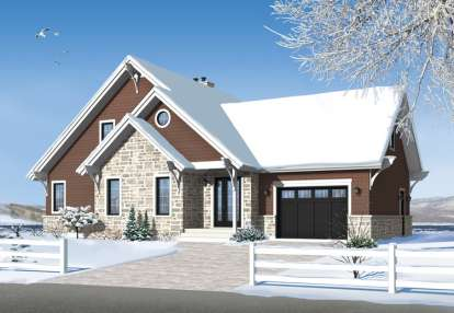 3 Bed, 2 Bath, 1886 Square Foot House Plan - #034-01051