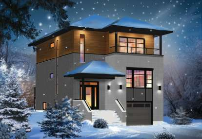 3 Bed, 2 Bath, 1883 Square Foot House Plan #034-01062