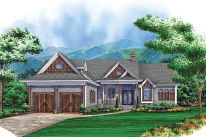 3 Bed, 3 Bath, 2328 Square Foot House Plan - #5565-00009