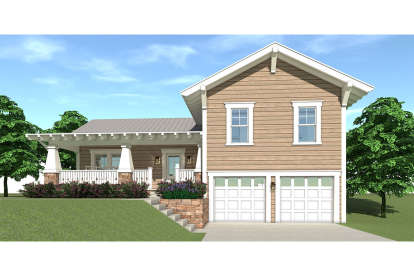 3 Bed, 2 Bath, 2310 Square Foot House Plan #028-00099