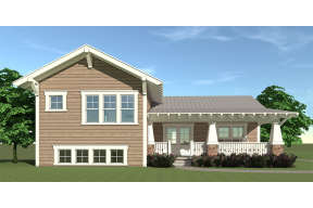 Bungalow  House Plan #028-00099 Elevation Photo