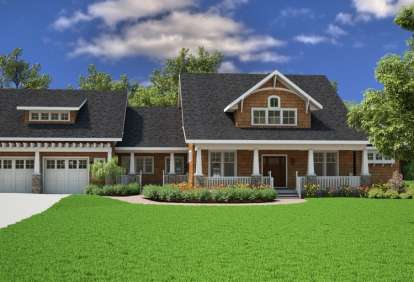 3 Bed, 2 Bath, 3039 Square Foot House Plan - #7806-00005