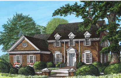 4 Bed, 3 Bath, 2784 Square Foot House Plan #7922-00002