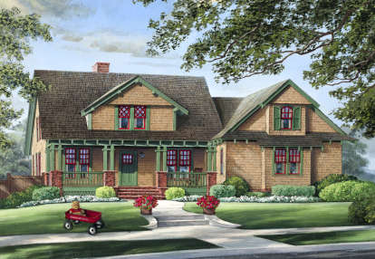 4 Bed, 3 Bath, 2012 Square Foot House Plan #7922-00010