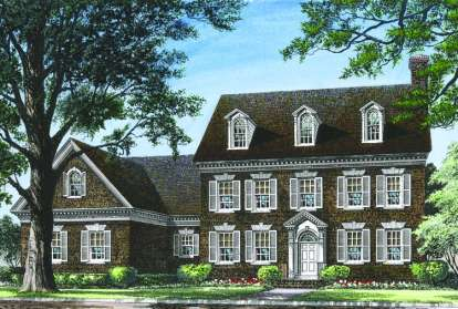 4 Bed, 4 Bath, 3664 Square Foot House Plan - #7922-00016