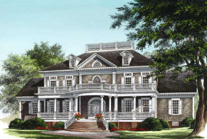 4 Bed, 4 Bath, 3618 Square Foot House Plan #7922-00017
