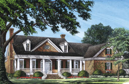 4 Bed, 3 Bath, 3738 Square Foot House Plan #7922-00030