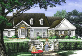 Country House Plan #7922-00043 Elevation Photo