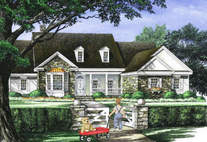 4 Bed, 3 Bath, 2818 Square Foot House Plan - #7922-00043