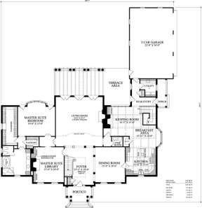 Floorplan 1 for House Plan #7922-00054