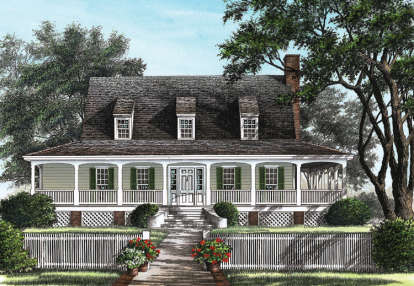 3 Bed, 2 Bath, 1909 Square Foot House Plan - #7922-00058