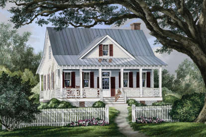 3 Bed, 2 Bath, 1738 Square Foot House Plan #7922-00077