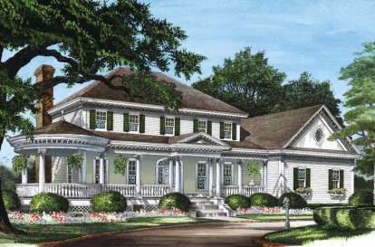 4 Bed, 3 Bath, 3359 Square Foot House Plan #7922-00083