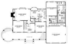 Floorplan 1 for House Plan #7922-00083