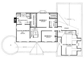 Floorplan 2 for House Plan #7922-00083