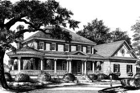 Classical House Plan #7922-00083 Additional Photo