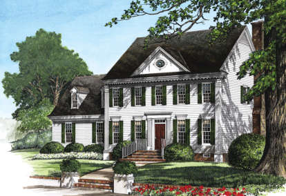 3 Bed, 2 Bath, 2190 Square Foot House Plan #7922-00085