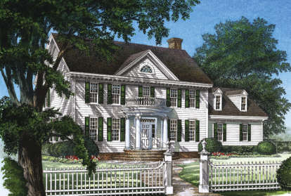 3 Bed, 2 Bath, 2214 Square Foot House Plan #7922-00096