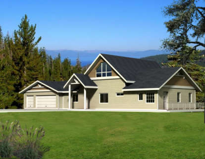 4 Bed, 3 Bath, 2986 Square Foot House Plan - #039-00208