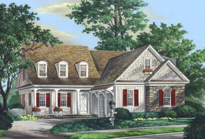 3 Bed, 3 Bath, 2474 Square Foot House Plan - #7922-00104