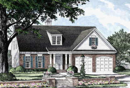 3 Bed, 2 Bath, 2253 Square Foot House Plan - #7922-00106