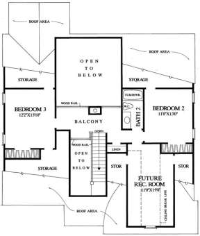 Floorplan 2 for House Plan #7922-00106