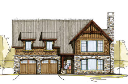 3 Bed, 3 Bath, 1970 Square Foot House Plan - #8504-00007