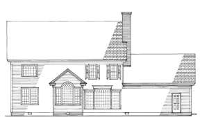 Lake Front House Plan #7922-00135 Elevation Photo