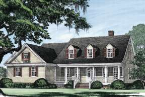 Cape Cod House Plan #7922-00147 Elevation Photo