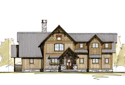 3 Bed, 2 Bath, 2337 Square Foot House Plan - #8504-00020