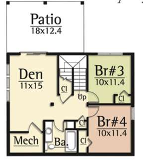 Optional Lower for House Plan #8504-00022