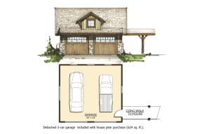 Cottage House Plan #8504-00022 Additional Photo