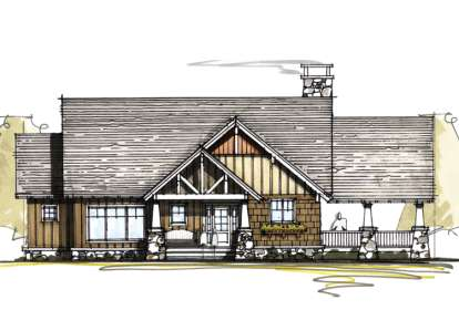 3 Bed, 3 Bath, 2262 Square Foot House Plan - #8504-00024