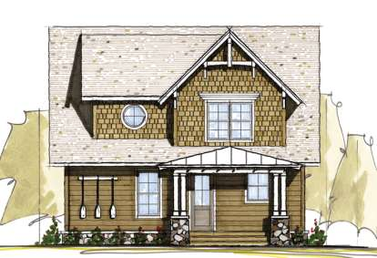 5 Bed, 3 Bath, 2650 Square Foot House Plan - #8504-00026