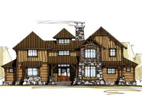 Mountain House Plan #8504-00031 Elevation Photo
