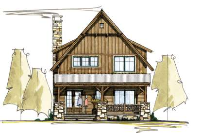 2 Bed, 2 Bath, 1710 Square Foot House Plan - #8504-00066