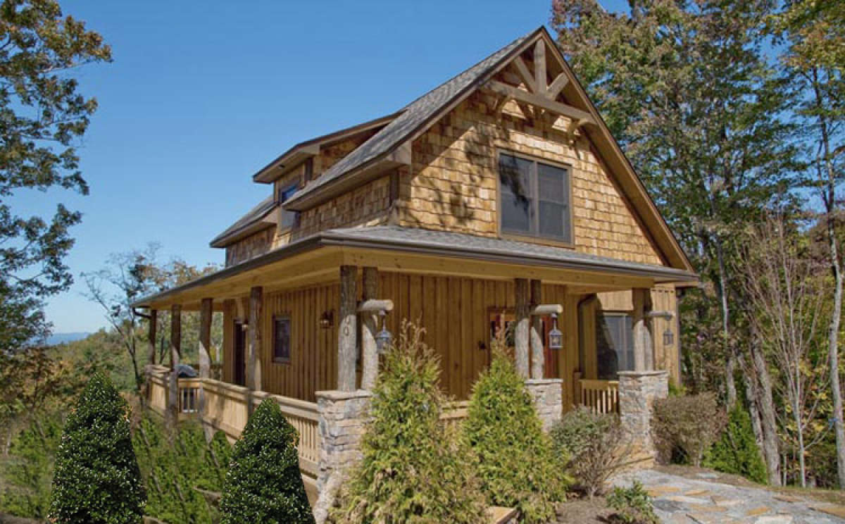 Mountain Plan: 1,240 Square Feet, 2 Bedrooms, 2 Bathrooms - 8504-00085
